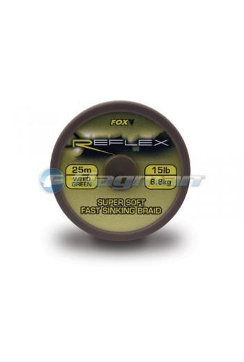 Поводковый материал FOX Reflex Braid 25 м 15 lb