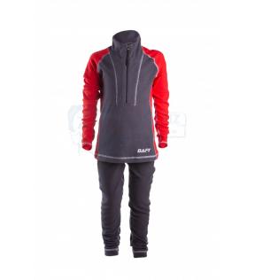 Термобелье BAFT Z-LINE gray/red KIDS ZL360 (Детское)