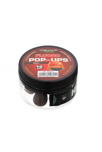 Бойлы Carp Pro Fluoro Pop-Ups BBQ 15 мм