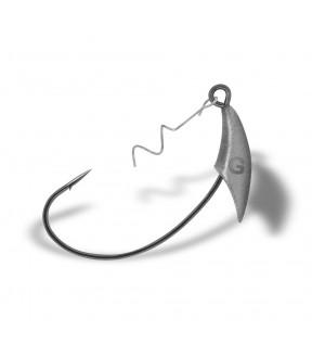Крючок огруженный офсет с штопором YOKE Swim Bait W KJ-0306