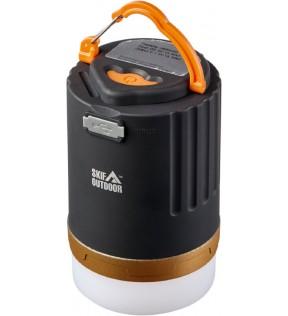 Ліхтар кемпінговий SKIF Outdoor Light Drop Max Black/Orange з пультом