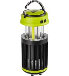 Ліхтар кемпінговий SKIF Outdoor Gaper Black/Green з захистом від комах