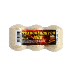 ТЕХНОПЛАНКТОН (МЕД) 180Г