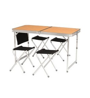Стол складной Tramp TRF-035 (4 табуретки)