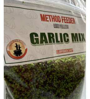Клуб Рыбаков Method Feeder Mini Pellets (Garlic Mix)