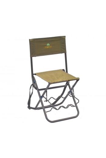 Складной стул с держателями для удилищ Forrest Camo